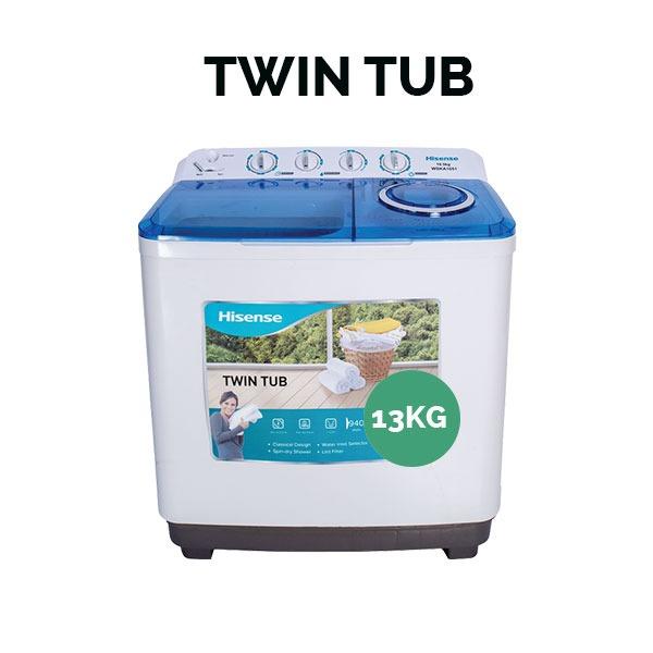 Hisense XPB130 13kg/6.5Kg Washing Machine