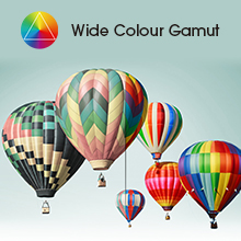 wide color