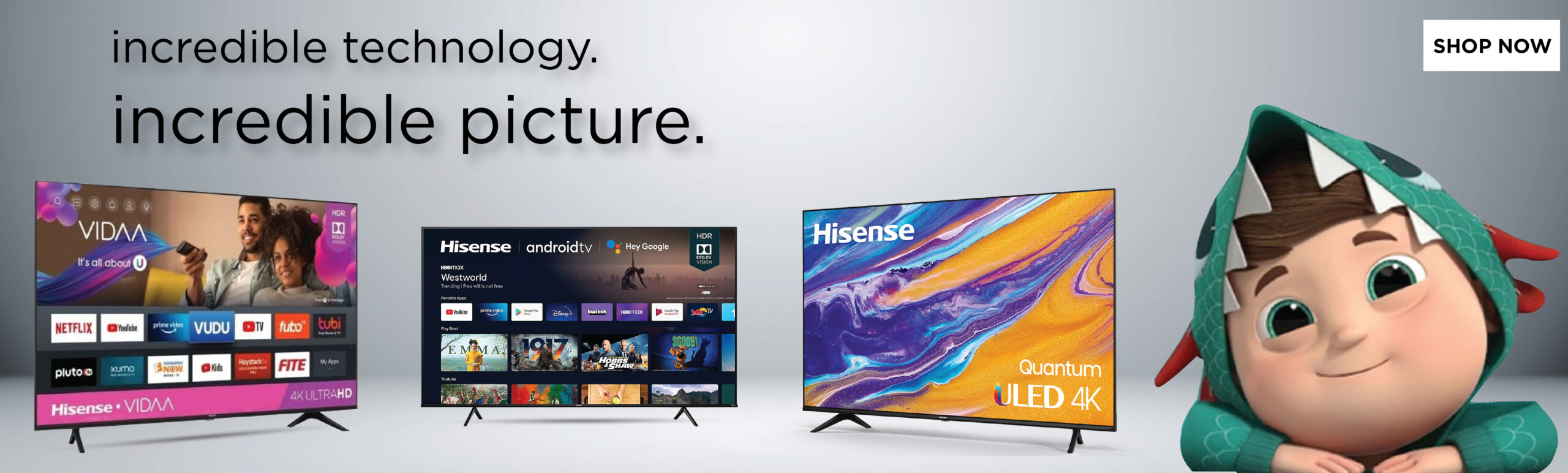 Hisense TVs scaled